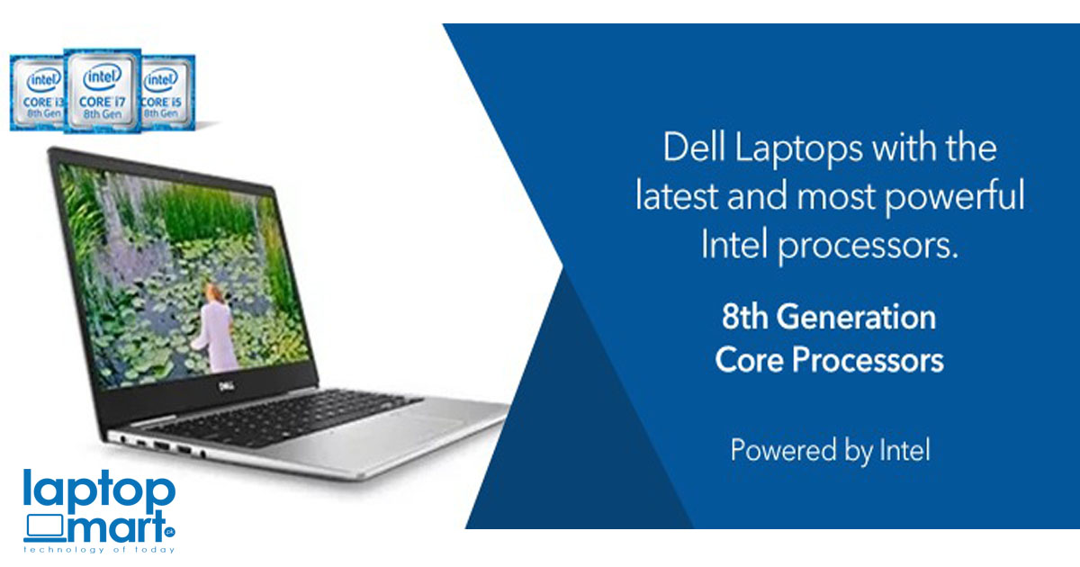 Dell 8th Generation Laptops Prices in Pakistan